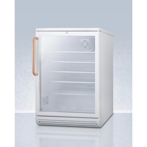 SCR600GLTBC Refrigerator Angle