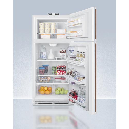 BKRF18WCP Refrigerator Freezer Full