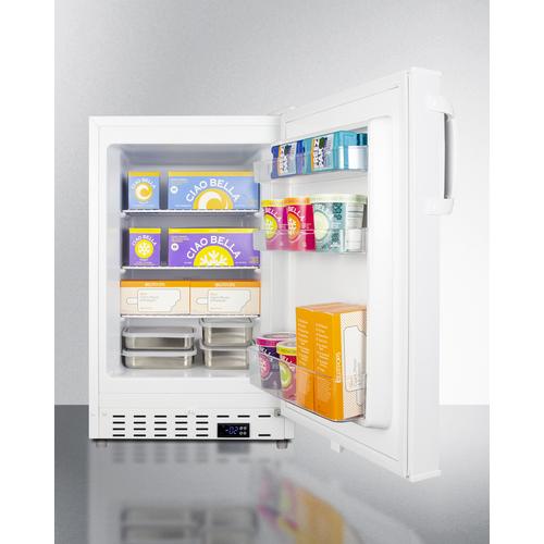 ALFZ36 Freezer Full
