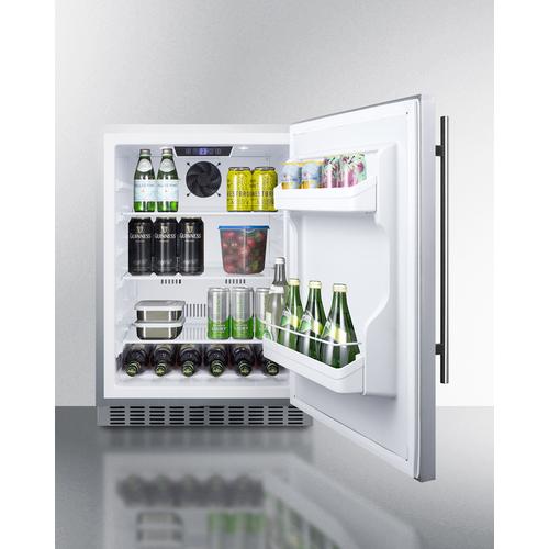 SPR629WCSS Refrigerator Full