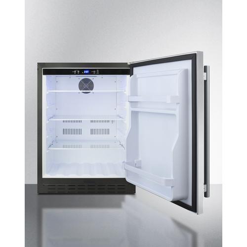 AL55 Refrigerator Open