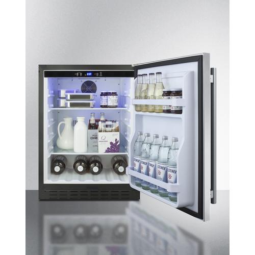 AL55 Refrigerator Full