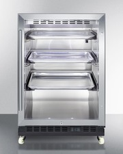 SCR610BLRI Refrigerator Front