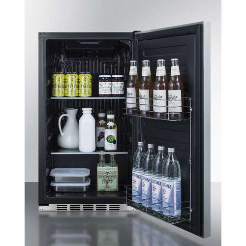 FF195H34CSS Refrigerator Full
