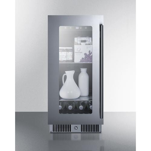 CL156BVLHD Refrigerator Full