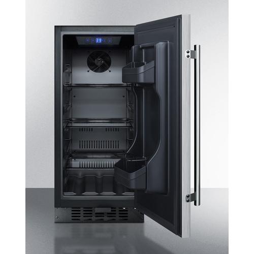 FF1532BCSS Refrigerator Open