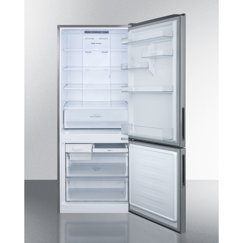 FFBF279SSBI Refrigerator Freezer Open