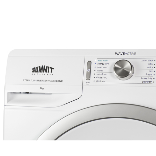 SLW241W Washer Detail