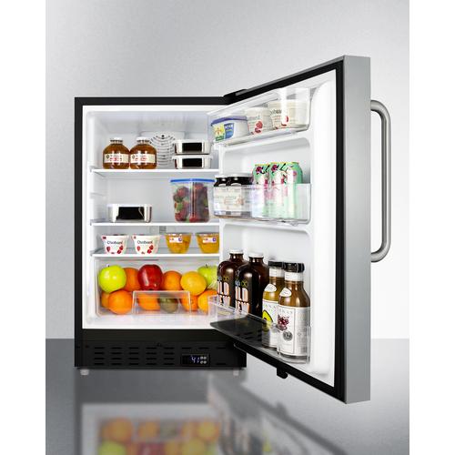 ALR47BCSS Refrigerator Full