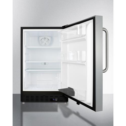 ALR47BCSS Refrigerator Open