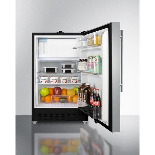 ALRF49BSSHV Refrigerator Freezer Full
