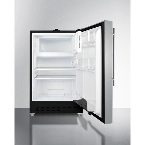 ALRF49BSSHV Refrigerator Freezer Open