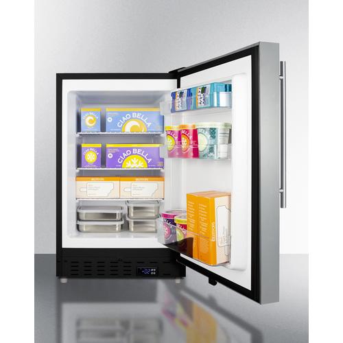 ALFZ37BCSSHV Freezer Full