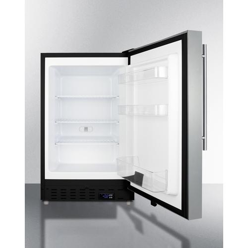 ALFZ37BCSSHV Freezer Open