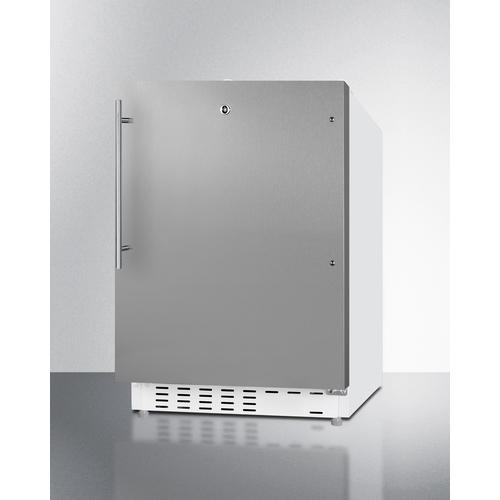 ALRF48SSHV Refrigerator Freezer Angle