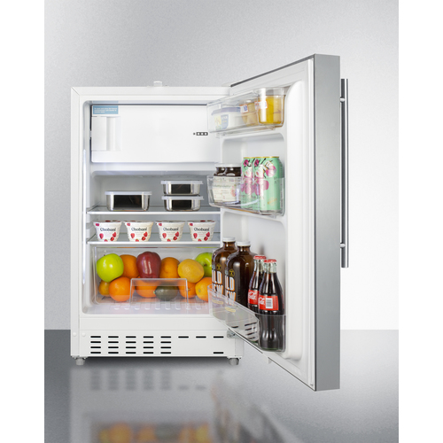 ALRF48SSHV Refrigerator Freezer Full