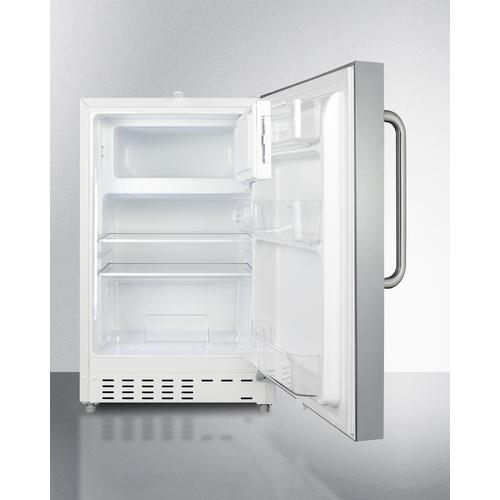ALRF48CSS Refrigerator Freezer Open