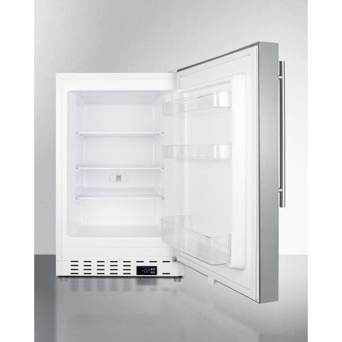 ALFZ36SSHV Freezer Open