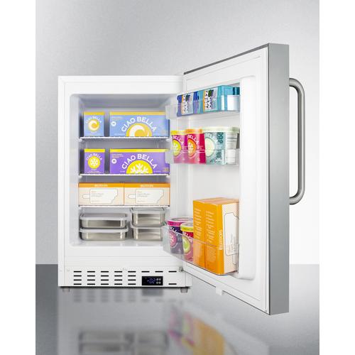 ALFZ36CSS Freezer Full