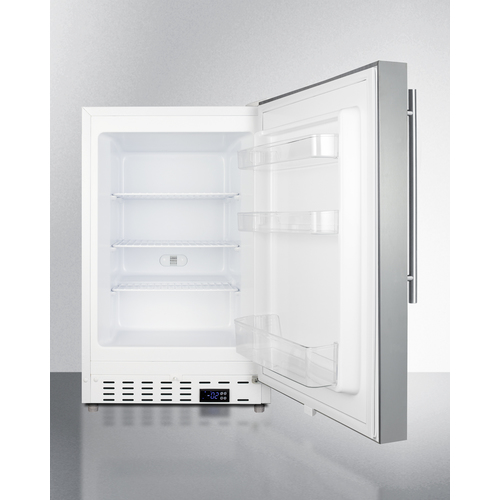 ALFZ36CSSHV Freezer Open