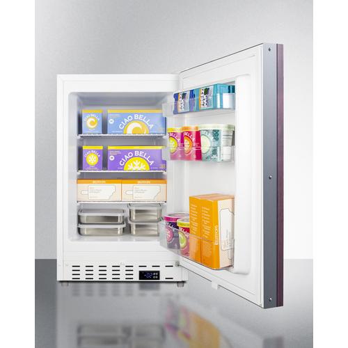ALFZ36IF Freezer Full