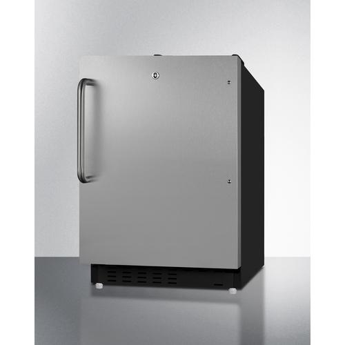 ALRF49BSSTB Refrigerator Freezer Angle