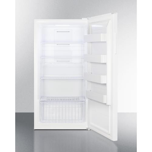 UF18W Freezer Open