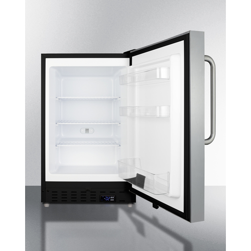 ALFZ37BSSTB Freezer Open
