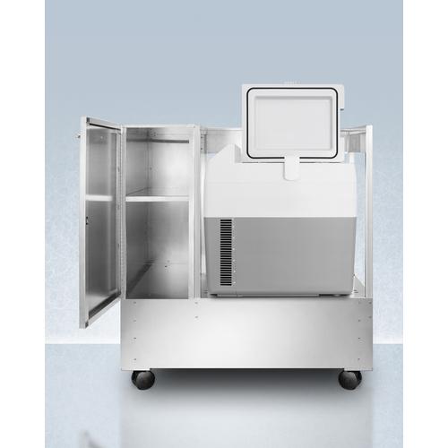CARTSPRF36 Refrigerator Freezer Open