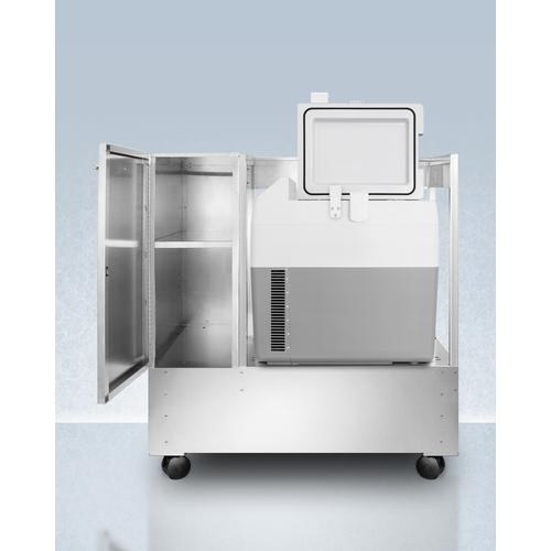 SPRF36LCART Refrigerator Freezer Open