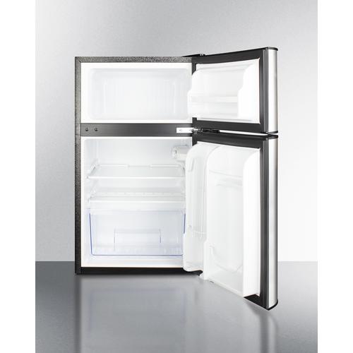 CP34BSS Refrigerator Freezer Open