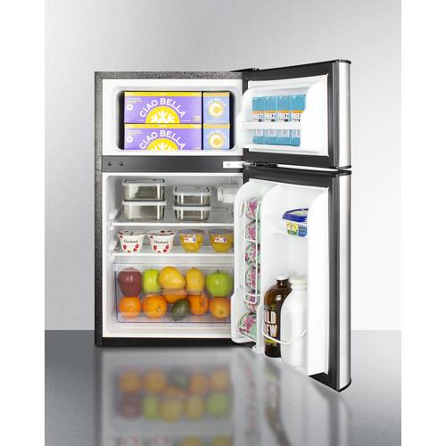 CP34BSS Refrigerator Freezer Full