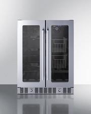 ALFD24WBVPANTRYCSS Refrigerator Front