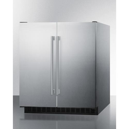FFRF3075WCSS Refrigerator Freezer Angle