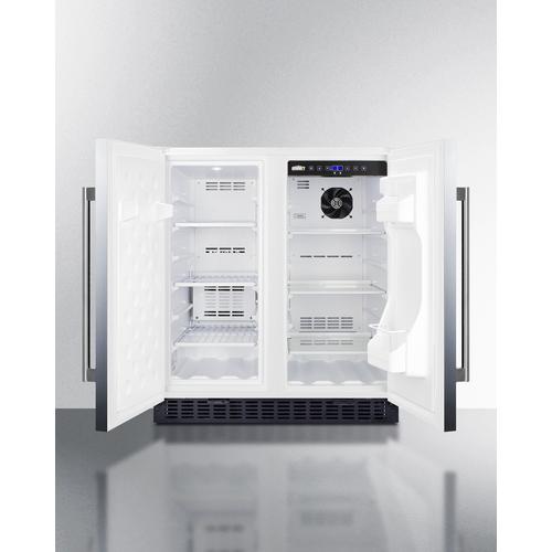 FFRF3075WCSS Refrigerator Freezer Open