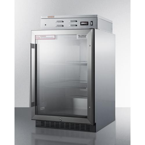 PHC61G Warming Cabinet Angle