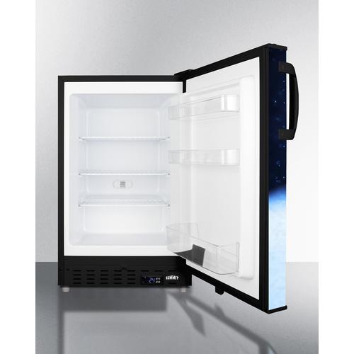 ALFZ37BFROST Freezer Open