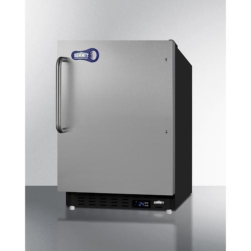 ALFZ37BSSTBFROST Freezer Angle