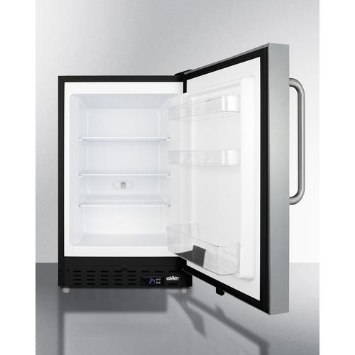 ALFZ37BSSTBFROST Freezer Open