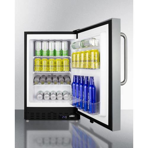ALFZ37BSSTBFROST Freezer Full
