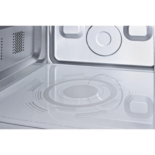 SCM1000SS Microwave Detail