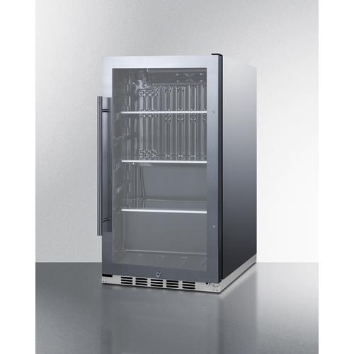 SPR488BOSH34CSS Refrigerator Angle