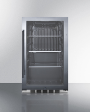 SPR488BOSH34CSS Refrigerator Front