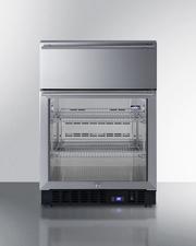 SCR615TDCSS Refrigerator Front