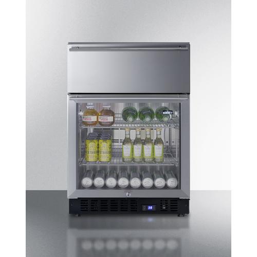 SCR615TDCSS Refrigerator Full