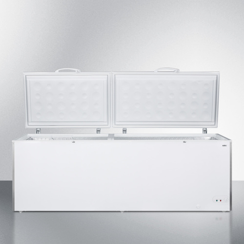 SCFM252W Freezer Open
