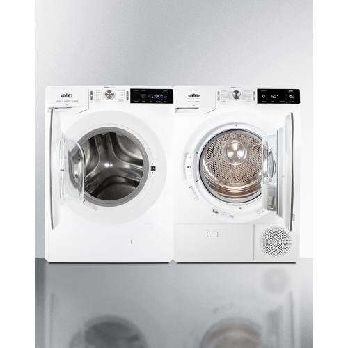 SLS24W4P Washer Dryer Open