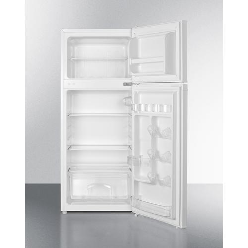 CP72W Refrigerator Freezer Open