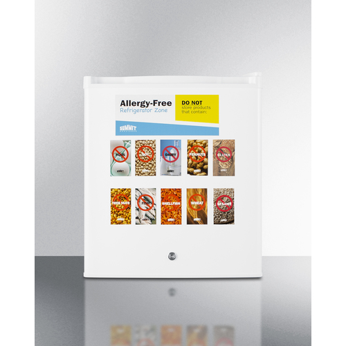 AZAR27W Refrigerator Front