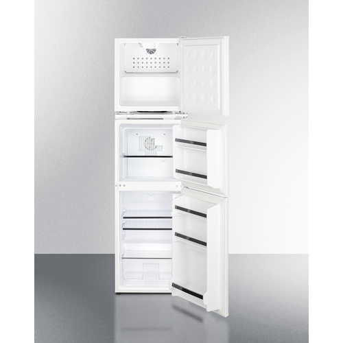 AZRF7W Refrigerator Freezer Open